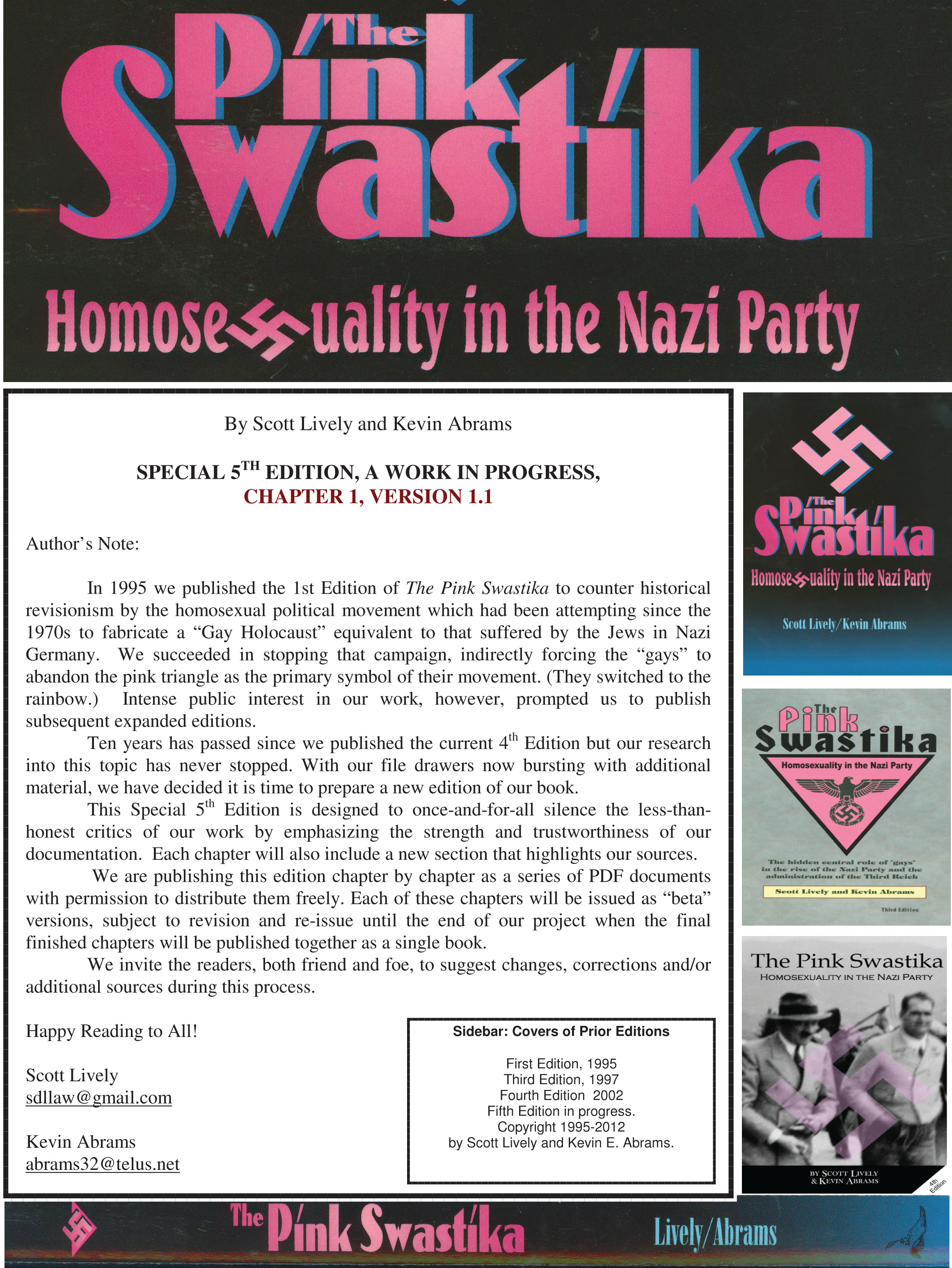 the pink swastika 5th edition